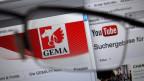 Haben sich 2016 geeinigt: Youtube und die Künstlervertretung GEMA. Seither erhalten Künstler auch Geld für das Anklicken ihrer Videos.