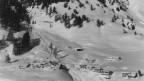 Die grösste Lawine traf den Davoser Ortsteil Auf den Böden. Sie forderte vierTodesopfer.