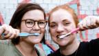 Wichtig: Das Zähneputzen.