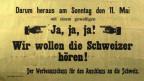 Das österreichische Bundesland will zur Schweiz