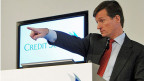 Credit Suisse-CEO Brady Dougan an der Jahresmeidenkonferenz.