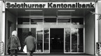 Die Solothurner Kantonalbank wurde in den 1990er-Jahren ein Opfer der damaligen Immobilienkrise.