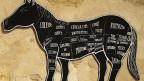 Pferdefleisch-Angebot in einem Pariser Restaurant.