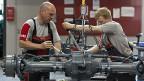 Firma Aebi, Herstellerin von Spezialfahrzeugen für die Kommunal- und Landwirtschaft, gehört auch zu den MEM-Betrieben.