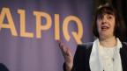 Jasmin Staiblin, CEO Alpiq, referiert anlässlich der Bilanzpressekonferenz am Dienstag, 12. März 2013, in Zürich.