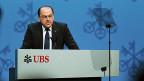 UBS-Verwaltungsratspräsident Axel Weber an der GV am 2. Mai in Zürich.