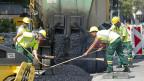 Der Bauwirtschaft geht es gut, die exportorientierte Maschinenindustrie leidet.