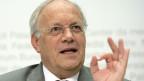Bundesrat Johann Schneider Ammann spricht an einer Medienkonferenz, am Mittwoch, 15. Mai 2013, in Bern.