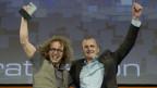 Zwei Preisträger am SEF 2012.