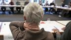 Teilnehmerin an einem Seminar für ältere ArbeitnehmerInnen - zur Vorbereitung der Zeit nach der Pensionierung.