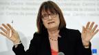 Finma-Präsidentin Anne Heritier Lachat; sie gilt als fachlich zwar hoch kompetent, aber führungsschwach.