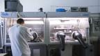 ein Forschungslabor der Schweizer Pharma-Industrie