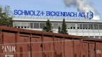 Das Stahlgeschäft verläuft meist in Zyklen. Logo der Firma Schmolz + Bickenbach.