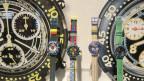 Uhren am Stand der Swatch an der BaselWorld in Basel am Donnerstag, 25. April 2013. Im Streit um die Lieferreduktionen von Uhrwerken der Swatch Group an andere Uhrenfirmen liegt im zweiten Anlauf eine Einigung auf dem Tisch.