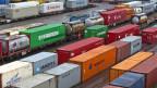 Es brauche mehr Logistikstandorte.  SBB Cargo in Basel.