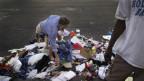 Armut in der USA.
