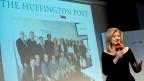 Arianna Huffington spricht in München zur Lancierung der deutschen «Huffington Post».
