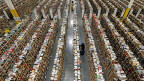 Online-Buchhändler Amazon hat ehrgeizige Ziele.