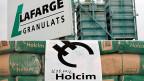 Lafarge-Holcim wäre der weltgrösste Zementkonzern.