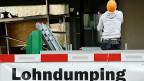 Es bliebt viel zu tun im Kampf gegen Lohndumping - sagen die Gewerkschaften.