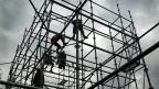 Der Bausektor beschäftigt besonders viele «Temporäre».