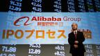 Der chinesische Online-Handelskonzern Alibaba will gross hinaus an der Wallstreet.