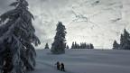 Schweiz Tourismus will neben «goldenen» Skipisten auch Winter-Wanderwege bewerben.