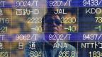 Nachdem die japanische Regierung mitgeteilt hatte, dass die Wirtschaft um 0,4 Prozent geschrumpft ist, verlor der Nikkei-Index fast drei Prozent.