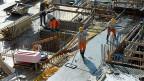 Auf dem Bau ziehen Arbeitgeber und Arbeitnehmer für einmal am gleichen Strick.