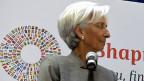 IWF-Direktorin Christine Lagarde. Bei grossem Risiko stellt der IWF auch harte Bedingungen. Im Fall der Ukraine verordnete der Fonds unter anderem einen Schuldenschnitt.