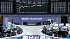 Börse in Frankfurt. Die Aktienkurse sind seit einiger Zeit am Steigen.