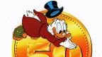 Der Milliardär Dagobert Duck. Lange habe die Mehrheit der Milliardäre weltweit schlicht Glück gehabt und geerbt. In den letzten Jahren hätten sich immer mehr Männer - und ein paar wenige Frauen - ihren Reichtum selbst geschaffen.