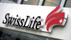 Das Logo des Schweizer Lebensversicherungskonzerns Swiss Life.