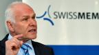 «Das Hauptproblem sind eben die Margen, nicht die Umsätze», sagt Swissmem-Präsident Hans Hess.