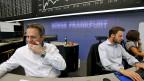 Der Sinkflug an den Börsen sorgt bei Börsenhändlern für Verunsicherung, Erschrecken, Irritation.