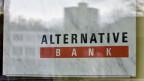 Das Firmenlogo der Alternativen Bank Schweiz, ABS.