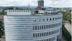 Blick auf den Hauptsitz der Bank für Internationalen Zahlungsausgleich (BIZ).