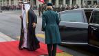 Trotz aller Kritik - Saudiarabien bleibt ein wirtschaftlich interessantes Land für die Schweiz: Die Schweiz hat im Jahr 2014 Güter im Wert von mehr als 4,5 Milliarden Franken ins saudische Königreich exportiert.