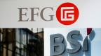 Mit EFG und BSI schliessen sich zwei Geldhäuser zusammen, die eigentlich keine kleinen Fische sind in der Schweiz.