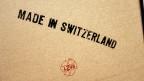 Made in Switzerland. Punkto Produktivität müsste die Schweiz noch zulegen, meint die OECD.