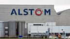 Die Fabrik der Alstom in Birr im Kanton Aargau.