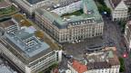 Zürich, Paradeplatz. Nie wieder soll eine Bank «t obig to fail» sein. Darüber diskutierte der Ständerat an der Sitzung vom 13. Juni.