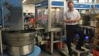 Olivier Annaheim, Mitinhaber und Geschäftsführer von Mungo in den Fabrikhallen in Olten.
