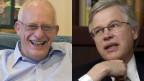 Die Wirtschaftsprofessoren Oliver Hart (li.) und Berndt Holström erhalten 2016 den Wirtschafts-Nobelpreis.
