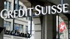 Das Logo der Credit Suisse.