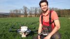 In der Schweiz werden in der Landwirtschaft neu Drohnen eingesetzt.