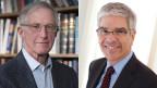 William D. Nordhaus und (li.) Paul Romer, die diesjährigen Nobelpreisträger für Wirtschaft.