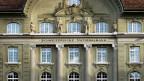 Fassade der Schweizerischen Nationalbank in Bern.
