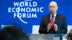 Klaus Schwab, Gründer und Executive Chairman des World Economic Forum, WEF.