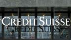 Eingang zum Gebäude der Credit Suisse in Oerlikon.